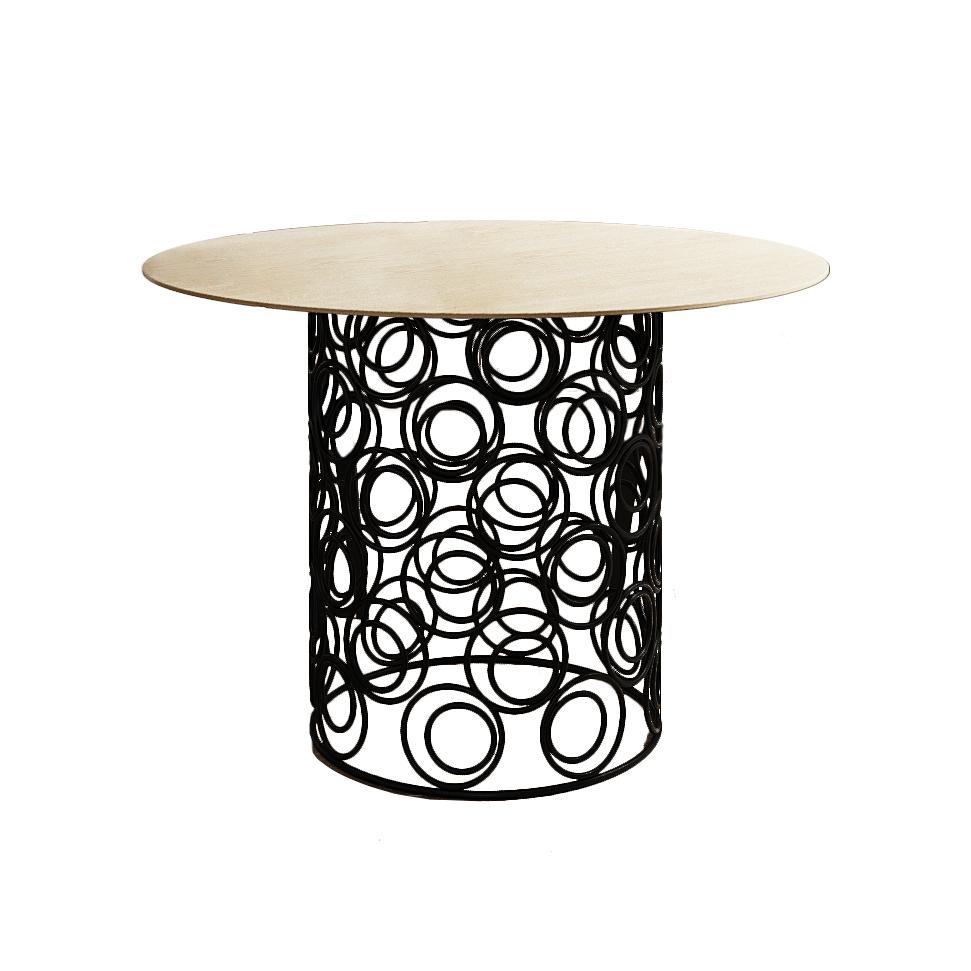 Обеденный стол Trinity Ø110 - вид 1