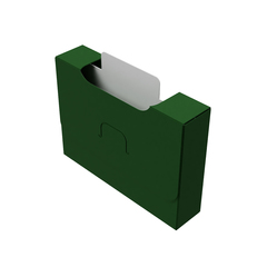 Органайзер для карт Uniq Card-File Standard - 20 mm (зелёный)