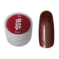 Цветной биогель Bio Stretch Gel Seoul №201