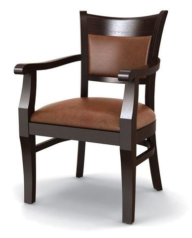 кресло из массива бука