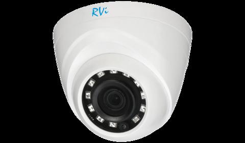 Камера видеонаблюдения RVi-HDC311B (2.8)
