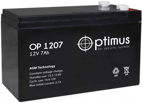 Аккумуляторная батарея OP 1207
