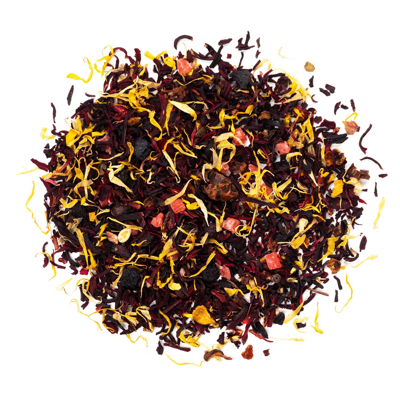 """Фруктовый, ягодный чай """"Арбузный пунш"""" фруктовый чай 100гр Арбузный_пунш.jpg"""