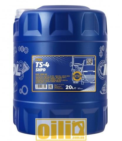 Mannol 7104 TS-4 SHPD 15W-40 20л