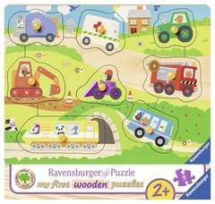 Puzzle Favourite vehicles 9 pcs