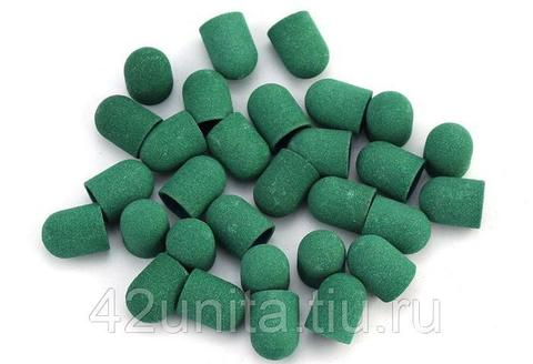 Колпачок абразивный (зеленый), 10*15, 180 грит