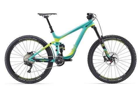 Giant Reign Advanced 27.5 1 (2016) зеленый