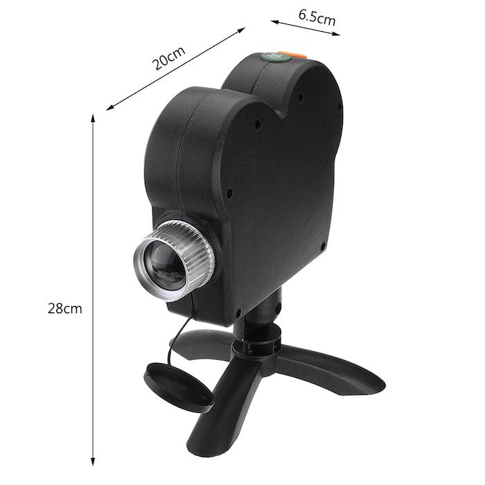 Небольшой размер позволит установить проектор на стол