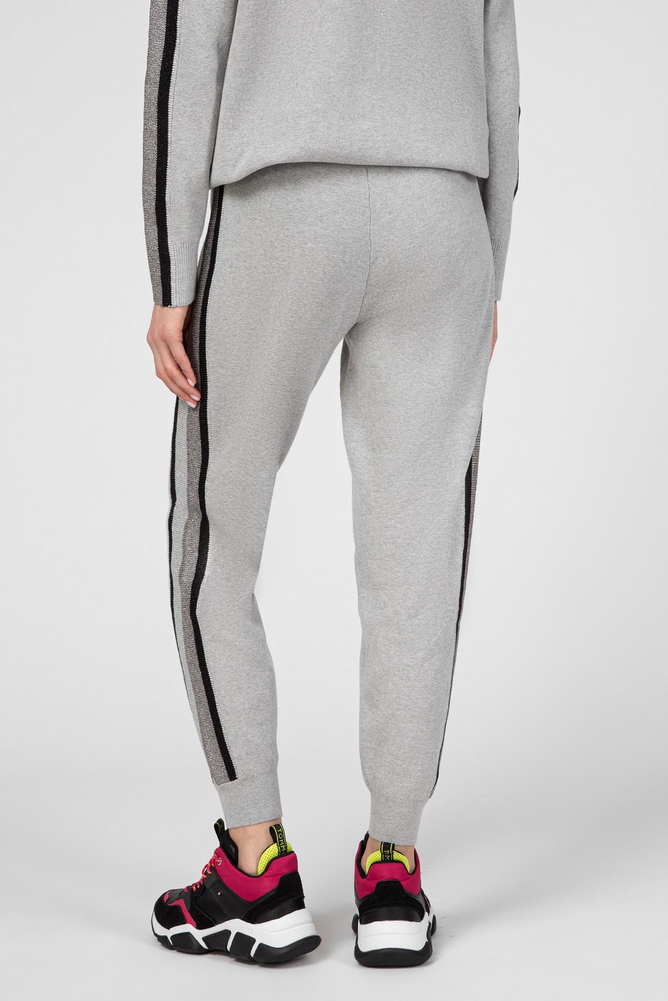 Женские серые спортивные брюки CACIE Tommy Hilfiger