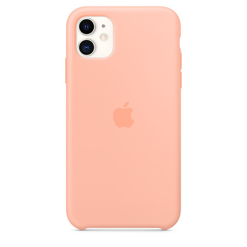 Чехол IP11 Silicone Case Grapefruit
