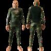Компрессионные штаны Grips Camo