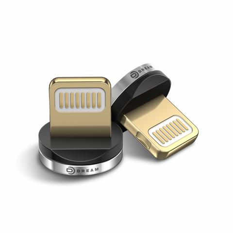Коннектор LIGHTNING (для магнитного кабеля) серебро ТЕХПАК (MR)