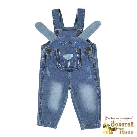 Комбинезон джинсовый мальчику (74-92) 210523-OP1149.2
