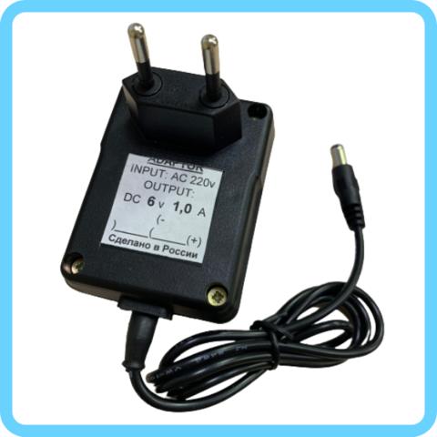 Зарядное уcтройство для аккумулятора 6V (1000мА)