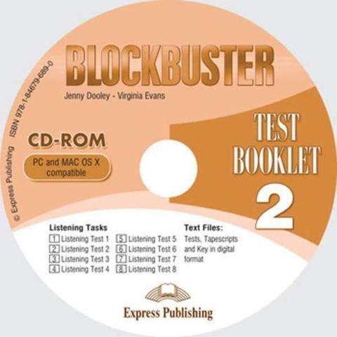 blockbuster 2 test booklet cd-rom