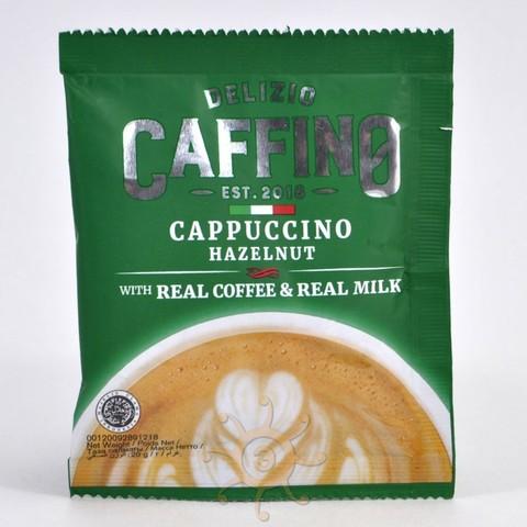 Напиток кофейный Капучино со вкусом лесного ореха (10 пакетиков) Caffino, 200г