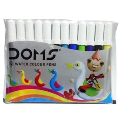 Flomaster Doms mini 12 rəng