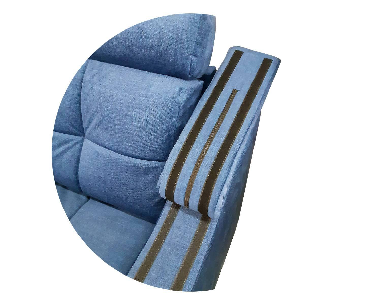 кресло Макс-П8, подлокотники с мягкими накладками