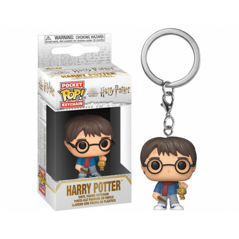 Брелок Гарри Поттер || Funko POP! Keychain Holiday Harry Potter (Harry Potter)
