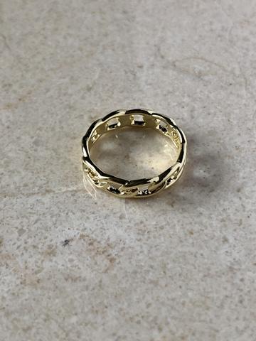 Кольцо Жаклин, позолота