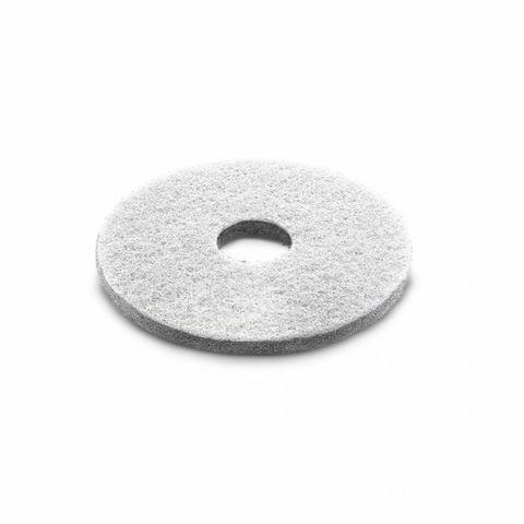 Алмазный пад, Karcher толстый, белый, 385 mm