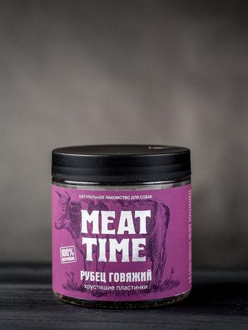 MEAT TIME Рубец говяжий Хрустящие пластинки, 45гр