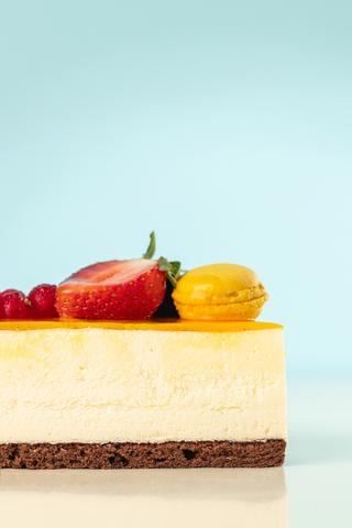 Торт Фреш чізкейк з сиром буко ( ваговий)