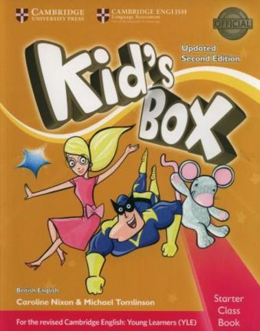 Kid's Box UPDATED Second Edition Starter Class Book with CD-ROM