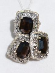 Фрея Ц (кольцо + серьги из серебра)