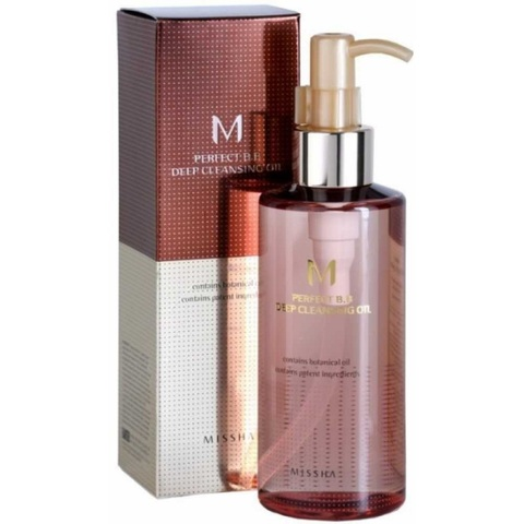 Missha M Perfect B B Deep Cleansing Oil гидрофильное масло