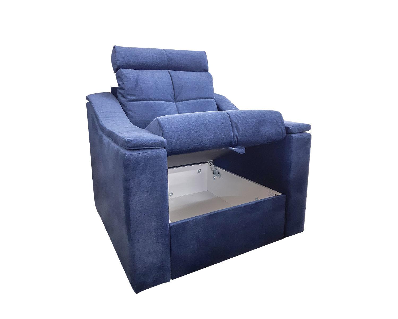кресло Макс-П8, ящик для хранения