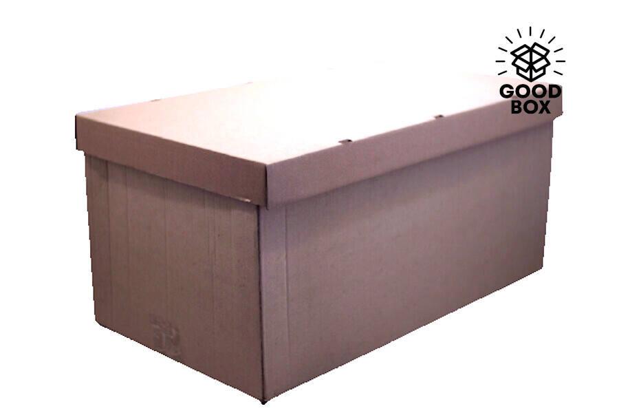 Большая архивная картонная коробка купить в Алматы