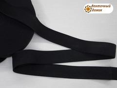 Резинка черная ширина 28 мм