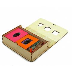 Досочки Сегена крашеные box