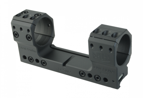 Тактический кронштейн SPUHR D36мм на Picatinny, H38мм, без наклона (SP-6002)