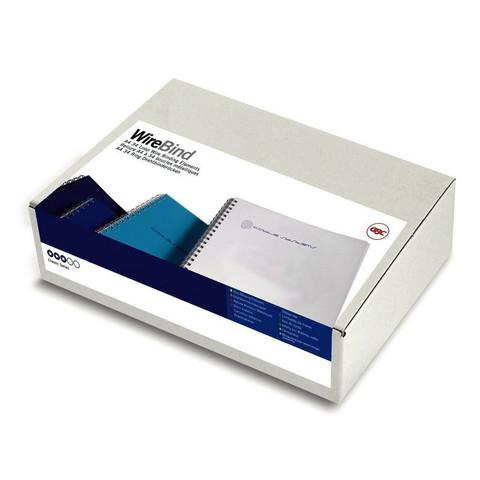 Пружины для переплета металлические GBC 9.5 мм белые (100 штук в упаковке)