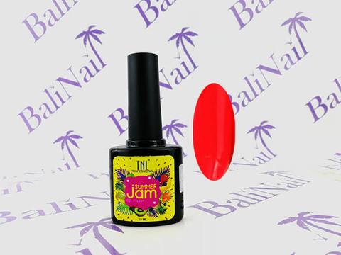 Гель-лак TNL Summer Jam №17 - неоновый коралловый (10 мл.)