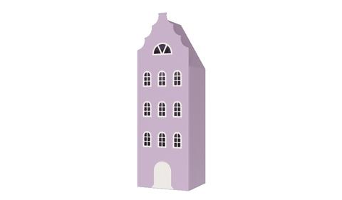 Шкаф-домик Амстердам - 9 (Н)