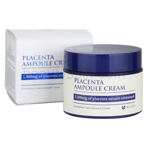 Mizon Плацентарный крем для лица PLACENTA AMPOULE CREAM 50 мл