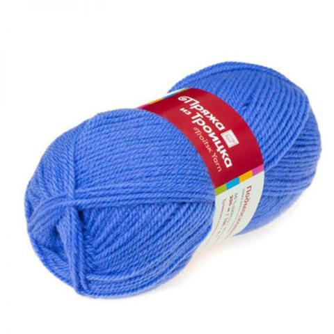 Пряжа Подмосковная (Троицкая) 520 Голубая пролеска