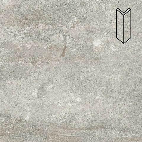 Stroeher - Keraplatte Epos 952 pidra 157х60х60x11 артикул 9000/9010 - Угловой клинкерный подступенок
