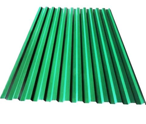 Профнастил C8 1.18x2 м зеленый 6005 толщина 0,35 мм