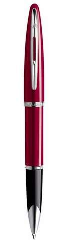 *Ручка-роллер Waterman Carene, цвет: Glossy Red Lacquer ST, стержень: Fblack