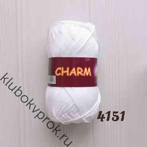 CHARM VITA COTTON 4151, Белый