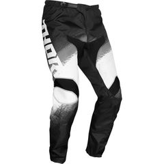 Штаны для мотокросса Thor Sector Vapor Черно-Белые Размер 36