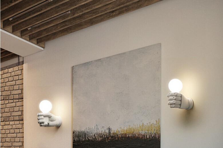 Настенный светильник Hand by Light Room (черный)