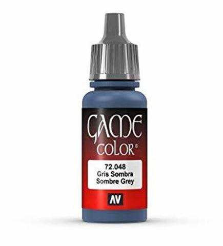 Game Color Sombre Grey 17 ml.