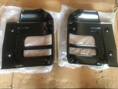 Бампер стальной угол бампера левый (металл) MAN TGA/TGS МАН ТГА/ТГС самосвал, миксер лесовоз узкая кабина левая часть Бампер, левый MAN TGS/TGA M.L.LX (металл.)