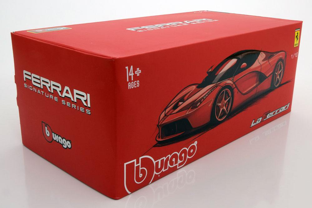 Коллекционная модель Ferrari LaFerrari 2013 Red Metallic/Black