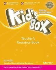Kid's Box UPDATED Second Edition Starter Teacher's Resource Book with Online Audio